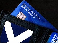 Royal Bank of Scotland credit card