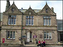 Duns Sheriff Court - Crown copyright picture