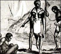 Африканский торговец рабами