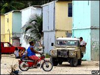 Houses on Nauru