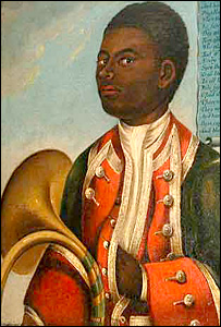 The 18th Century 'Negro Coachboy' painting