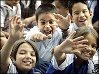 Niños colombianos.