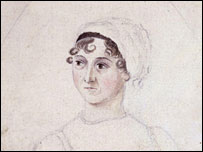 Jane Austen portrait by her sister Cassandra Austen courtesy of the National Portrait Gallery