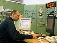 Compressor control room (Photo Dmitry Saltikovsky)