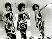 Diana Ross (right) and The Supremes