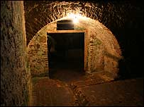 Dungeon in Cape Coast Castle