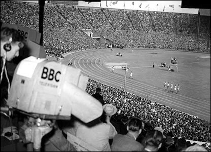 The 1948 London Olympics at Wembley