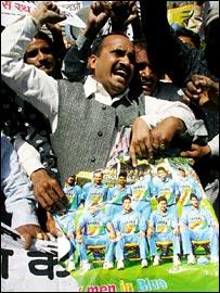 Unhappy India fans