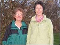 Pat Watkins and Liz Morawiecki