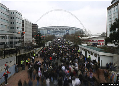 Fans head for Wembley on Saturday