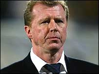 England manager Steve McClaren