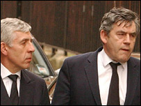 Jack Straw and Gordon Brown