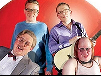 Charlie and Craig Reid, Peter Kay and Matt Lucas