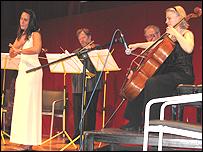 Cuarteto Brodsky con Diana Baroni.