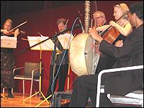 Cuarteto Brodsky en el Museo Brit�nico.