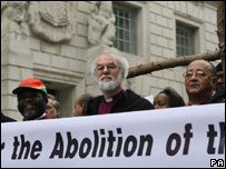 Dr Rowan Williams on the Walk of Witness
