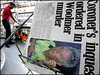 Newspaper in Jamaica reporting events following Bob Woolmer's murder