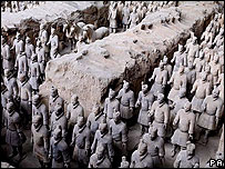 Terracotta warriors, PA