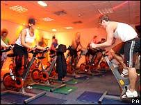 A gym in Newcastle