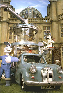 Wallace and Gromit invention