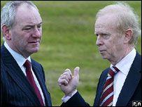 SDLP leader Mark Durkan and UUP leader Sir Reg Empey