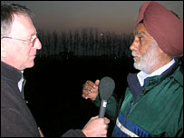 Mark Doyle interviewing Jagjit Singh Hara