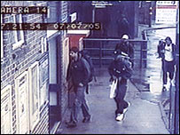 July 7 bombers on CCTV