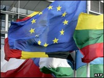 The EU and other flags