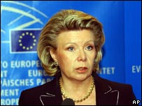 Information Society and Media Commissioner Viviane Reding