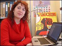 Silvia P�rez Freire, de la organizaci�n Alecr�n