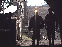 Miners at Aberpergwm