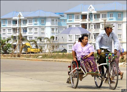 Naypyidaw trishaw