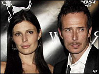 Scott Weiland and his wife, Mary