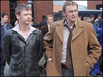 John Simm and Philip Glenister