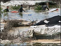 Gaza flood