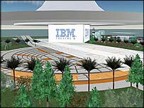 IBM auditorium in Second Life