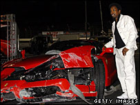 Eddie Griffin Crash