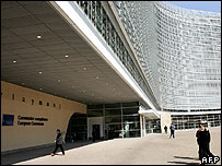 European Commission's Berlaymont building in Brussels