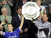 Dennis Wise and Ed de Goey
