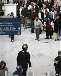Riots in Paris