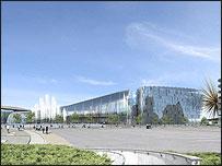 Impression of the Manchester super-casino