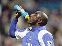 Portsmouth defender Sol Campbell