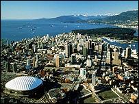 Vancouver skyline, Canada