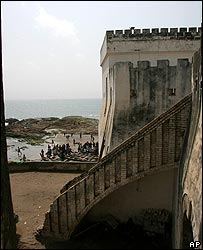 Elmina Castle and slave fort