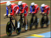 Great Britain's Men's Pursuit Team
