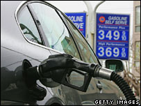 Filling station. Image: Getty