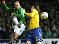 David Healy dispatches the winner for NI against Sweden
