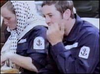Captured sailors in Iran