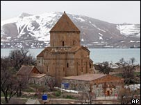 Akdamar church, Lake Van, Turkey