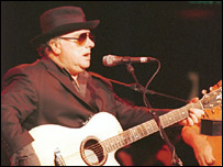 Van Morrison at the Golders Green Hippodrome in 2000